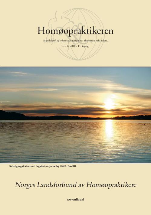 Homøopraktikeren nr.1-2018