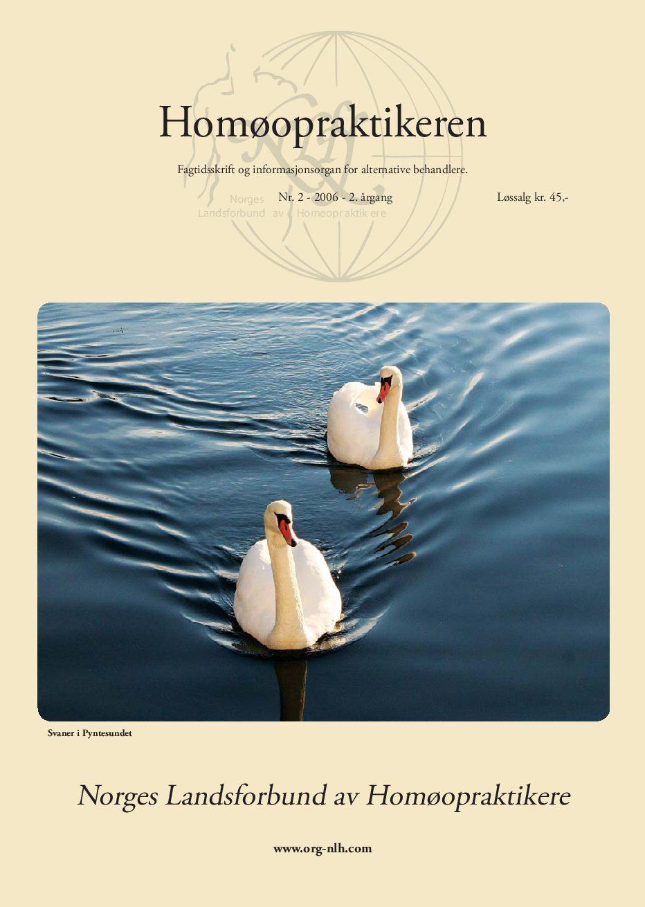 Homøopraktikeren nr. 2-2006