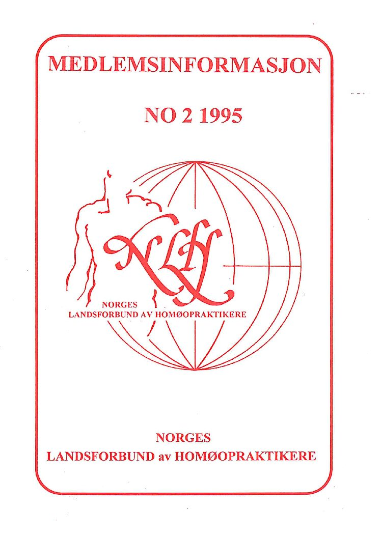 Medlemsinfo nr. 2-1995