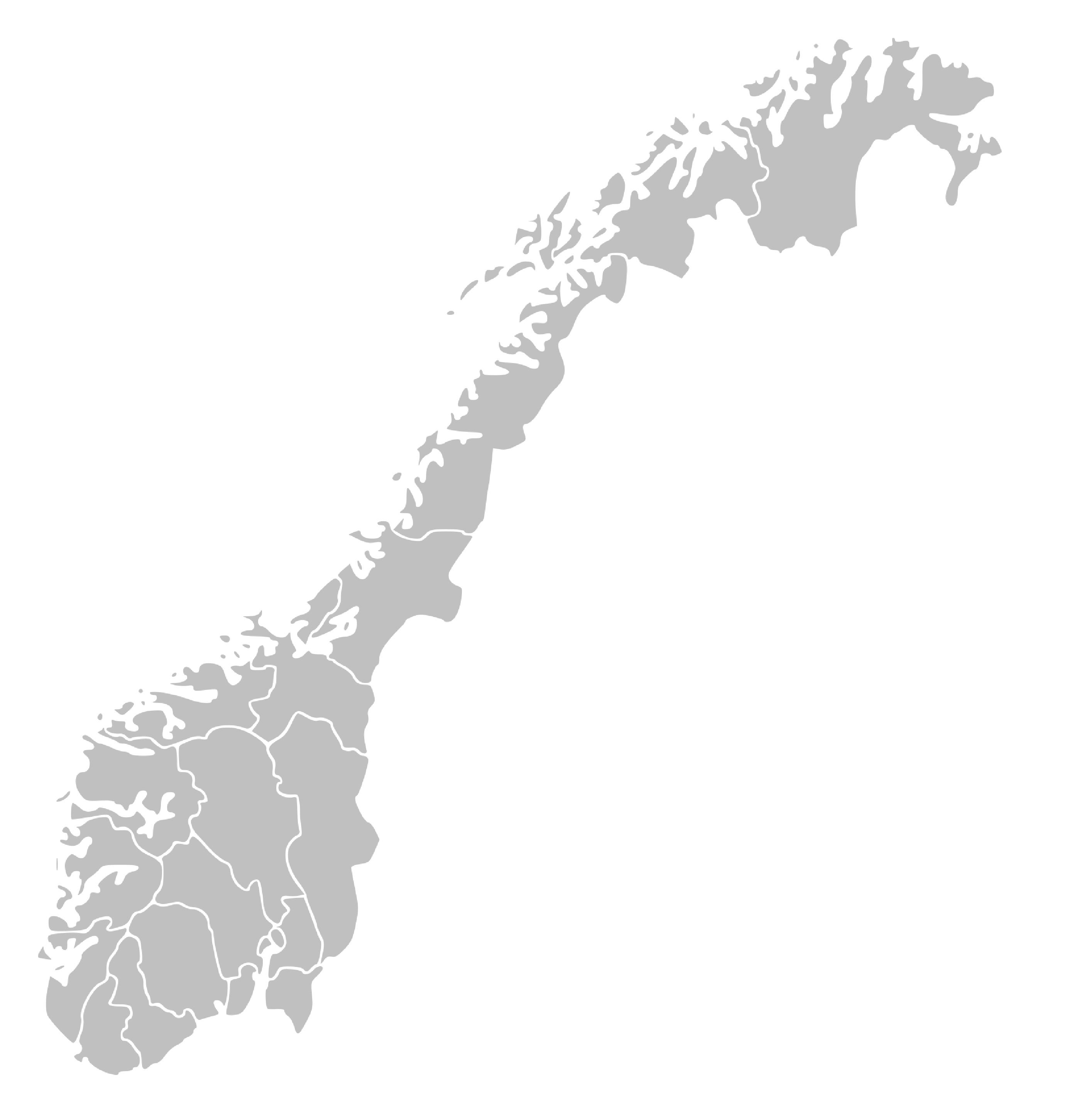 Norges kart