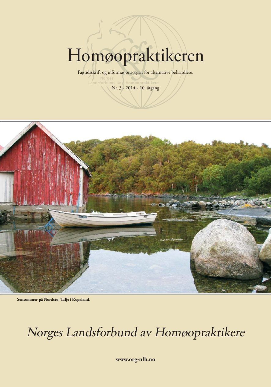 Homøopraktikeren nr. 3-2014