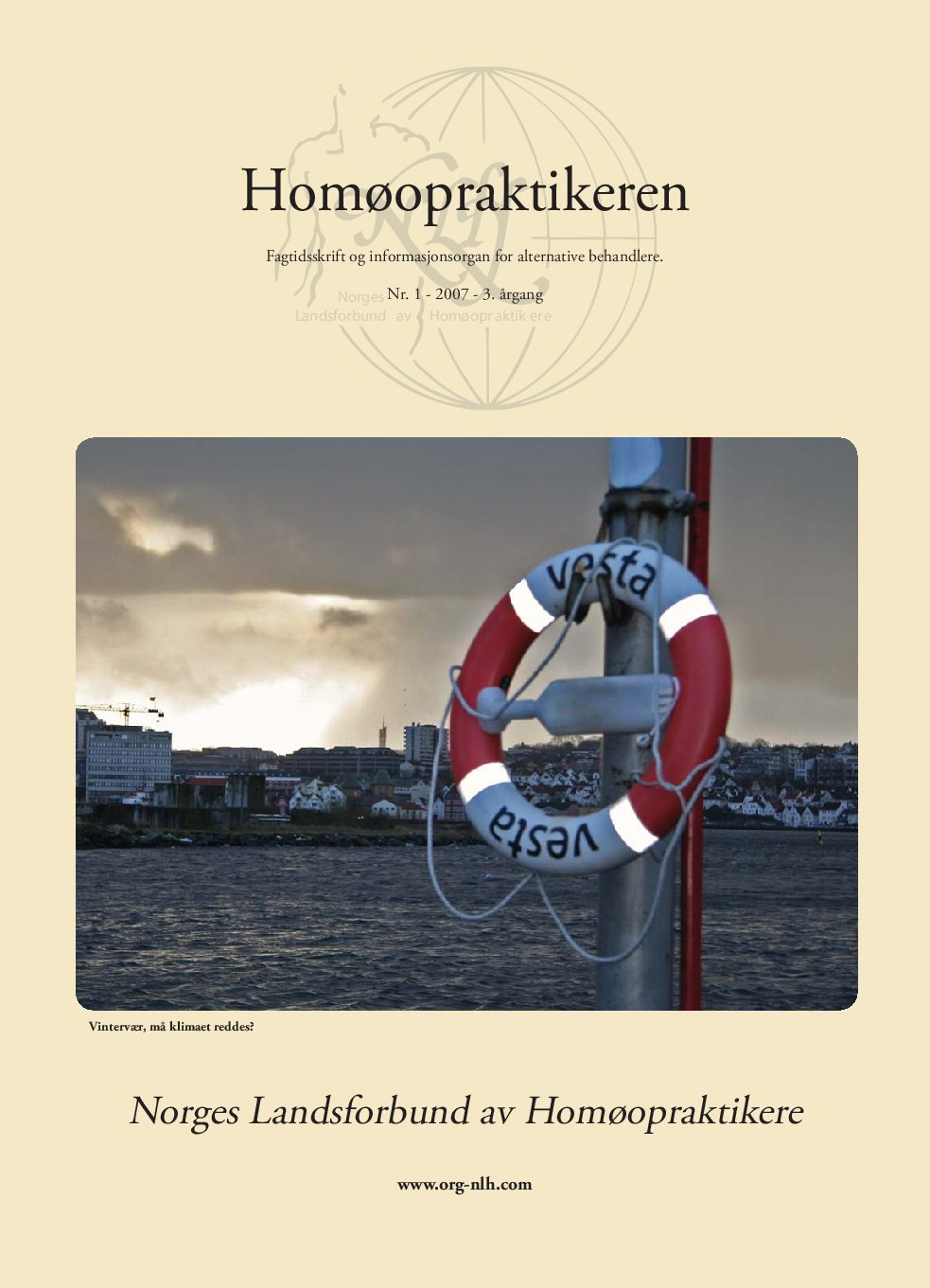 Homøopraktikeren nr. 1-2007