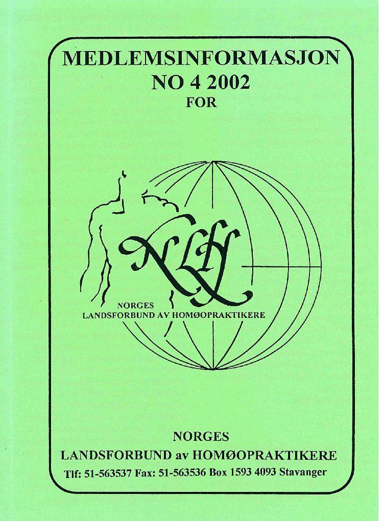 Medlemsinfo nr. 4-2002